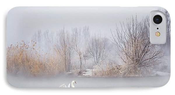 Swan iPhone 7 Case - Untitled by Uu