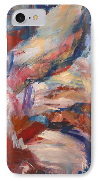 IPhone Case featuring the painting Untitled V by Fereshteh Stoecklein