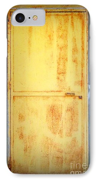 IPhone Case featuring the photograph Unused Door by Clare Bevan