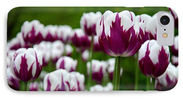 Unusual Tulips Phone Case by Jennifer Ancker