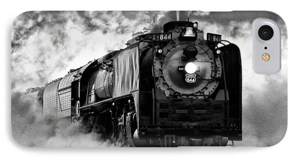 Up 844 Steaming It Up IPhone Case by Bill Kesler