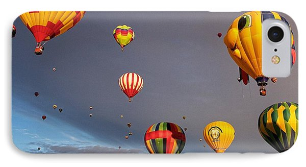 IPhone Case featuring the photograph Up And Away by Dave Files