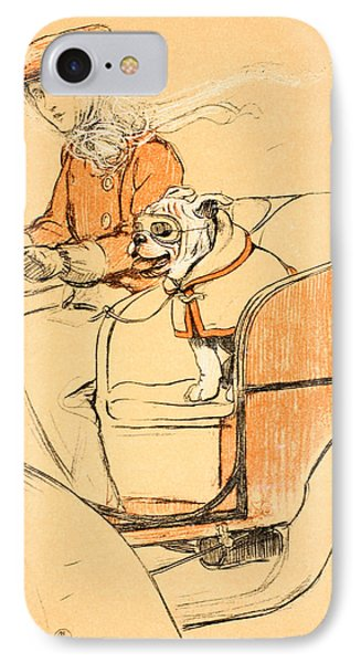 Up Front IPhone Case by Cecil Charles Windsor Aldin