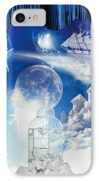 Up In The Air Phone Case by Mo T