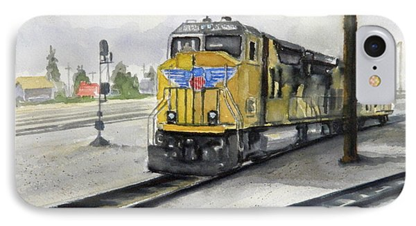 U.p. Locomotive IPhone Case by William Reed