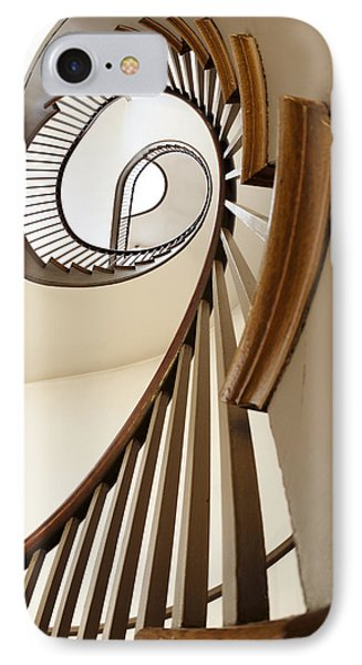 Up Stairs IPhone Case by Alexey Stiop