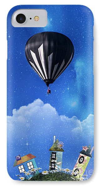 Up Through The Atmosphere IPhone Case by Juli Scalzi