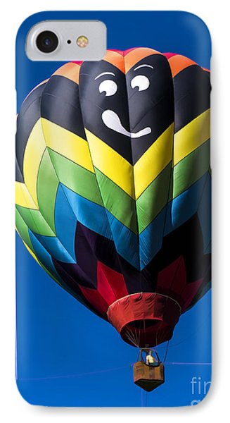 Up Up And Away In My Beautiful Balloon IPhone Case by Edward Fielding