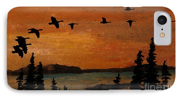 Up With The Wind IPhone Case by R Kyllo