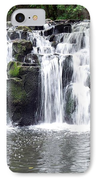 IPhone Case featuring the photograph Upper Beaver Falls by Chalet Roome-Rigdon
