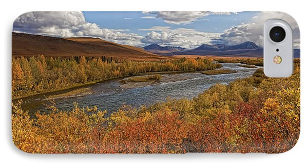 Upper Blackstone River Flowing North IPhone Case