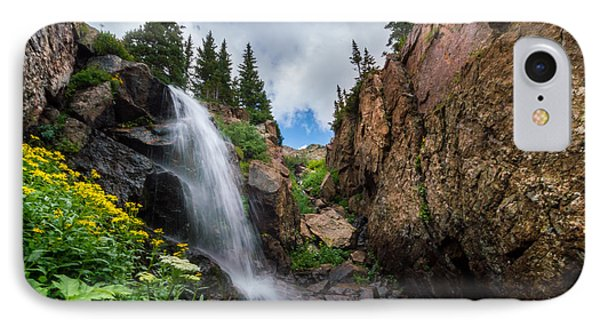 Upper Booth Falls IPhone Case by Michael J Bauer