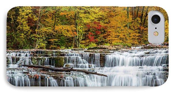 Upper Cataract Falls On Mill Creek IPhone Case
