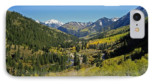 IPhone Case featuring the photograph Upper Crystal River Valley by Eric Rundle
