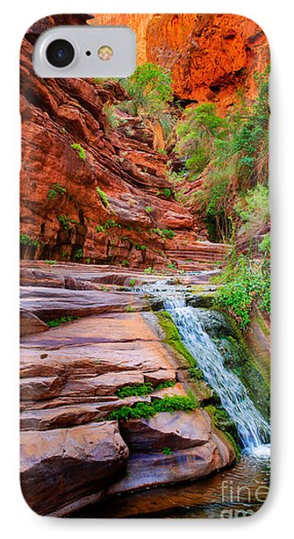 Upper Elves Chasm Cascade IPhone Case by Inge Johnsson
