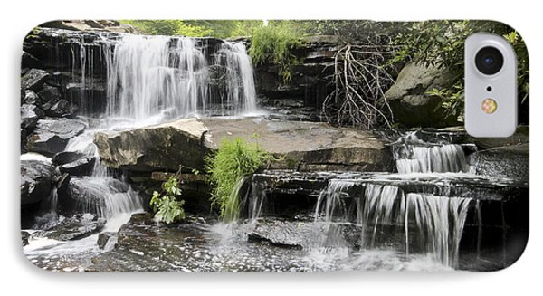 Upper Goose Creek Falls IPhone Case by Robert Camp