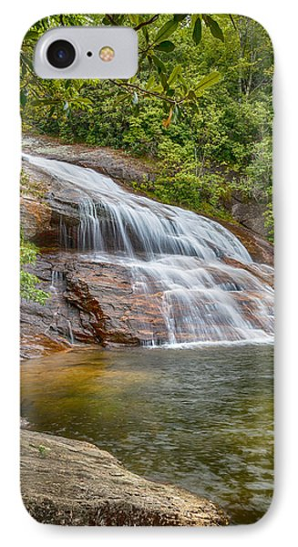 Upper Graveyard Falls IPhone Case by David Cote