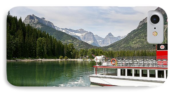 IPhone Case featuring the photograph Upper Waterton Lakes by Teresa Zieba