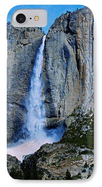 Upper Yosemite Falls Phone Case by Eric Tressler