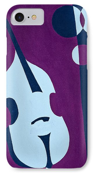 Upright Jazz IPhone Case by Brian Broadway