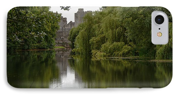 IPhone Case featuring the photograph Upriver From Cahir Castle by Winifred Butler