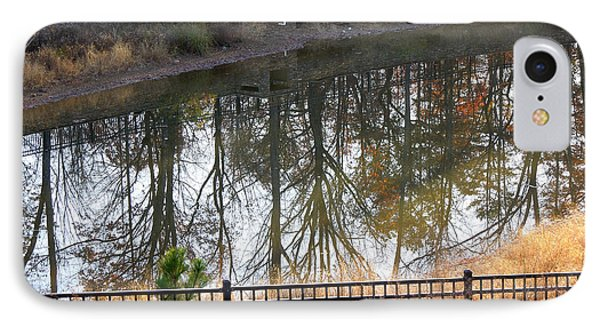 IPhone Case featuring the photograph Upside Down by Pete Trenholm