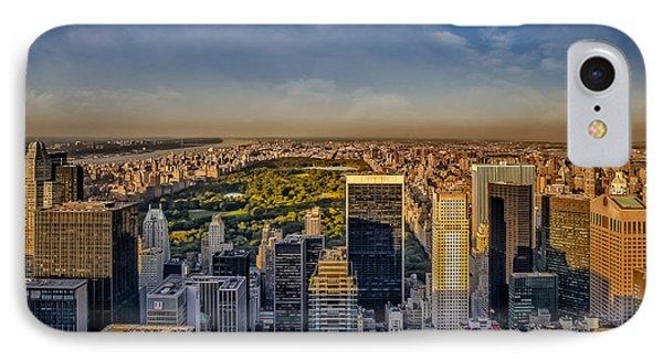 Uptown Manhattan New York City IPhone Case