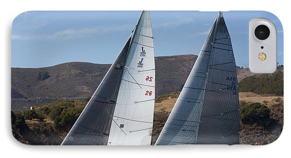 Upwind To The Gate IPhone Case by Steven Lapkin