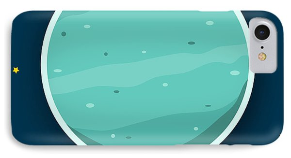 Uranus Phone Case by Christy Beckwith