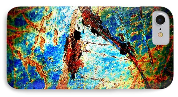 Urban Abstract IPhone Case by Christiane Hellner-OBrien