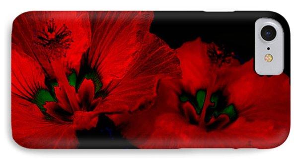 Urban Art Hibiscus 6 IPhone Case