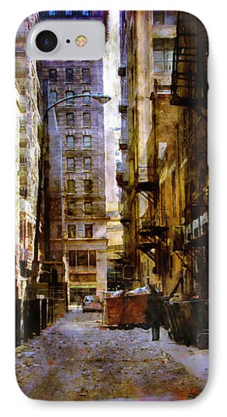 IPhone Case featuring the photograph Urban Back Streets by John Rivera