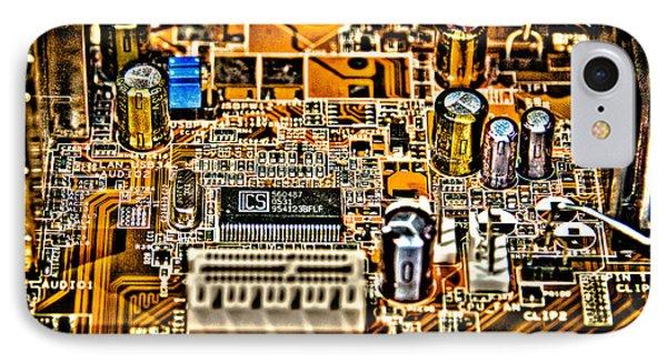 Urban Chipset IPhone Case by Alex Hiemstra