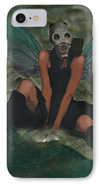 IPhone Case featuring the digital art Urban Fairy by Galen Valle