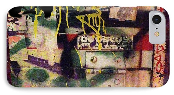 Urban Graffiti Abstract 1 IPhone Case