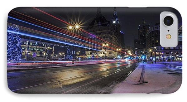 Urban Holiday  Phone Case by CJ Schmit