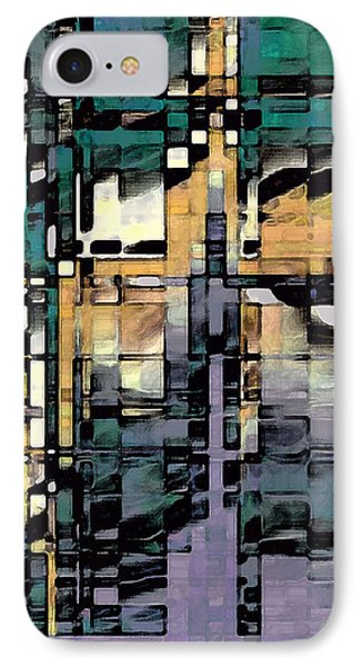 Urban Jungle IPhone Case by David Hansen