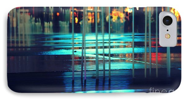 Urban Night Life IPhone Case by Charline Xia