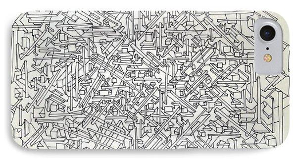 Urban Planning IPhone Case by Nancy Kane Chapman