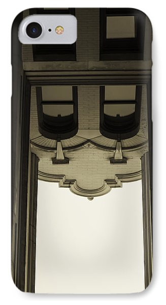 IPhone Case featuring the photograph Urban Portals - Architectural Abstracts by Steven Milner