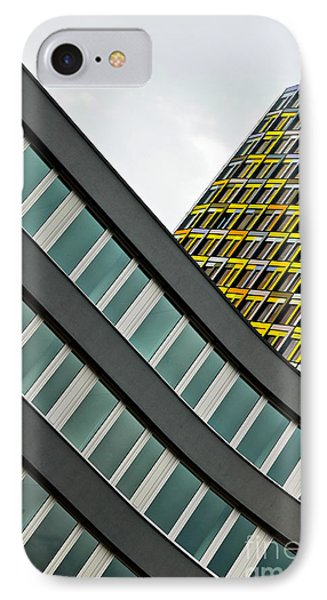 urban rectangles III Phone Case by Hannes Cmarits