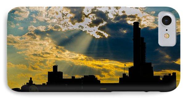 Urban Silhouette IPhone Case by Frank Mari