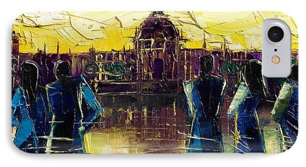 Urban Story - Hotel-dieu De Lyon IPhone Case by Mona Edulesco