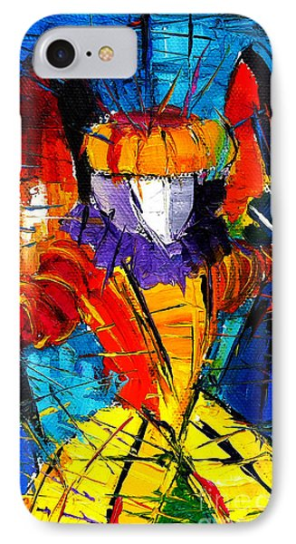 Urban Story The Venice Carnival 2 Painting Detail IPhone Case