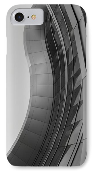 IPhone Case featuring the photograph Urban Work - Abstract Architecture by Steven Milner