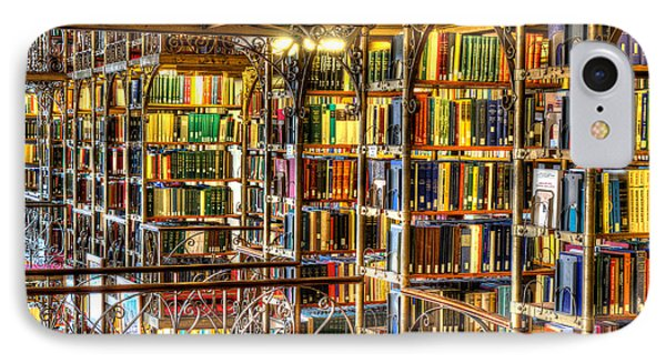 Uris Library Cornell University IPhone Case