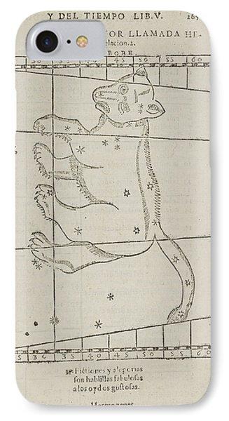 Ursa Major Star Constellation IPhone Case by British Library