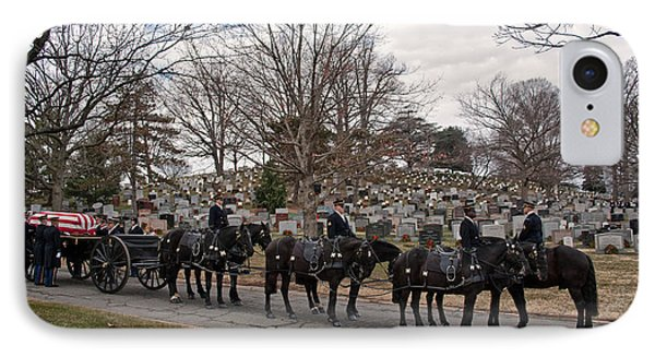 Us Army Caisson At Arlington National Cemetery IPhone Case