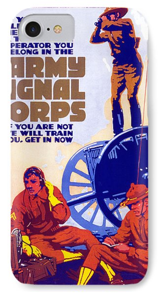 Us Army Signal Corps, 1917-20 IPhone Case