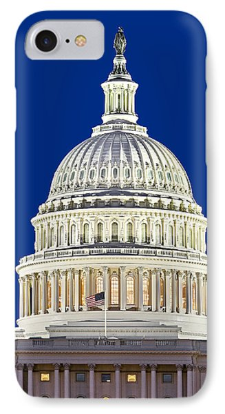 Us Capitol Dome Phone Case by Susan Candelario